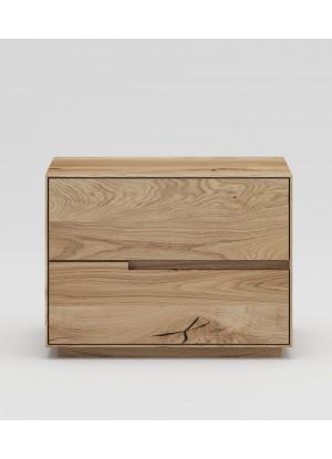 Dubový nočný stolík NSzn01 2s