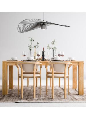 Dubový stôl Klasický 02 rozkladací