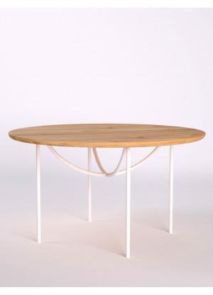 Dubový konferenčný stolík Ław15