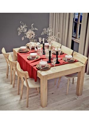 Dubový stôl Genewa 01 rozkladací