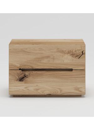 Dubový nočný stolík NSzn04 2s