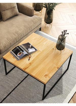 Dubový konferenčný stolík Ław05