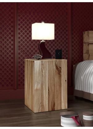 Dubový nočný stolík Syringa 01