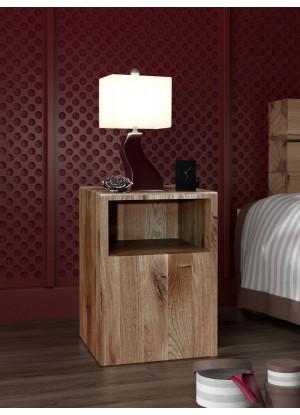 Dubový nočný stolík Syringa 03
