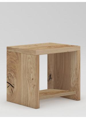 Dubový nočný stolík Syringa 02