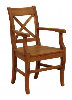 Dreveny fotel Hacienda
