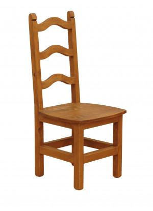 Drevená stolička Hacienda 01