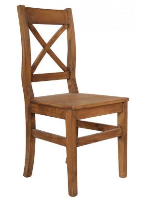 Drevená stolička Hacienda 02