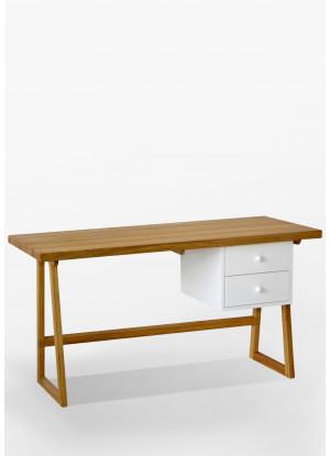 Dubový písací stôl/sekretár 01