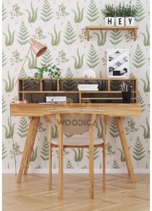 Dubový písací stôl/sekretár 03