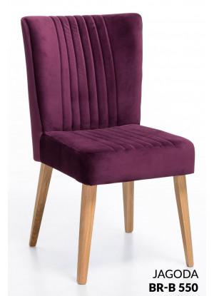 Dubová stolička čalúnená NK-19