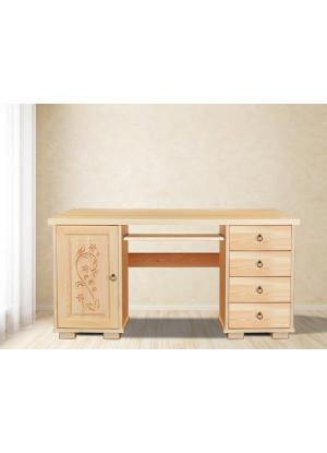 Drevený písací stôl Horalský 2KSD
