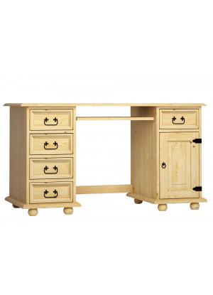 Drevený písací stôl Beskidzka 01