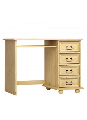 Drevený písací stôl Beskidzka 04