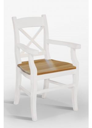 Stolička Nicea 33 X dubové sedadlo