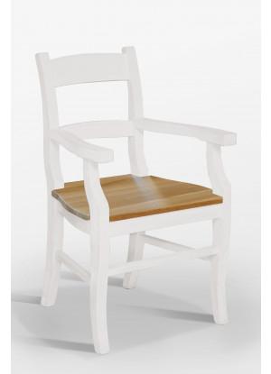Stolička Nicea 35 dubové sedadlo
