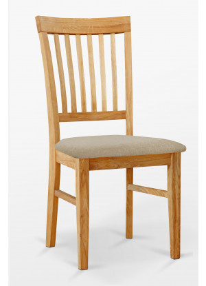 Dubová stolička 02 Čalúnenie