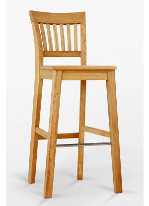 Barová stolička dubová D