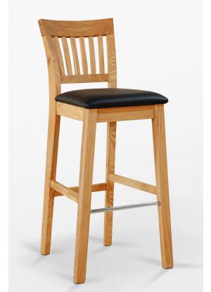 Barová stolička dubová C
