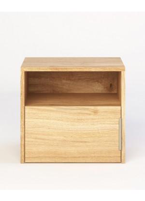 Dubový nočný stolík Modern 01
