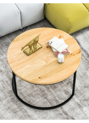 Dubový konferenčný stolík Ław03 malý