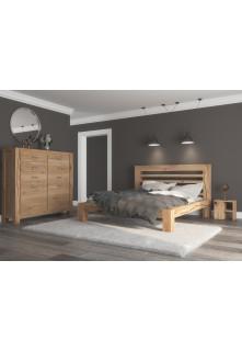 Dubová posteľ Syringa 05