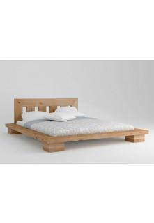 Dubová posteľ Cerasus 03