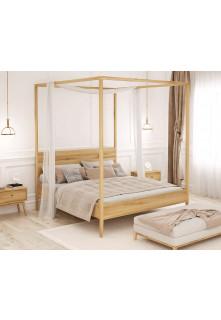 Dubová posteľ Malaga 02