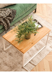 Dubový konferenčný stolík Ław07 obdĺžnikový