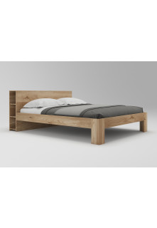 Dubová posteľ Vernalis 03