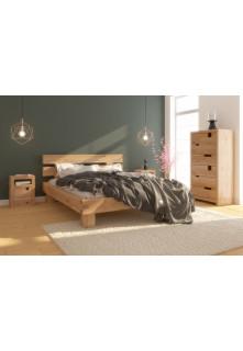 Dubová posteľ Caragana 03