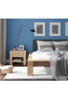 Dubová posteľ Imperata 02