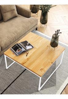 Dubový konferenčný stolík Ław04 štvorcový