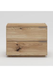 Dubový nočný stolík NSzn05 2s