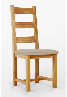 Dubová stolička 04 Čalúnnictvo
