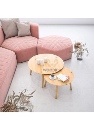 Dubový konferenčný stolík Ław24