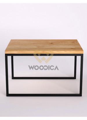 Dubový konferenčný stolík Ław08