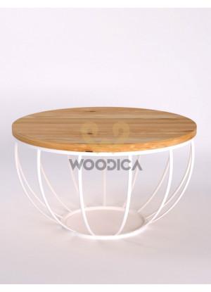 Dubový konferenčný stolík Ław12