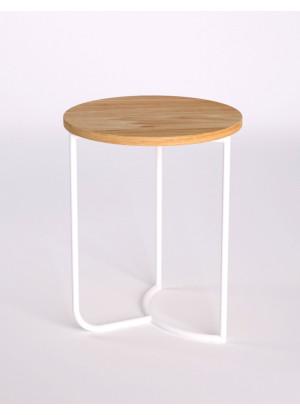 Dubový konferenčný stolík Ław18