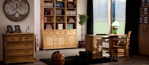 Nábytok vo výrazných farbách, teda retro štýl v našich domoch